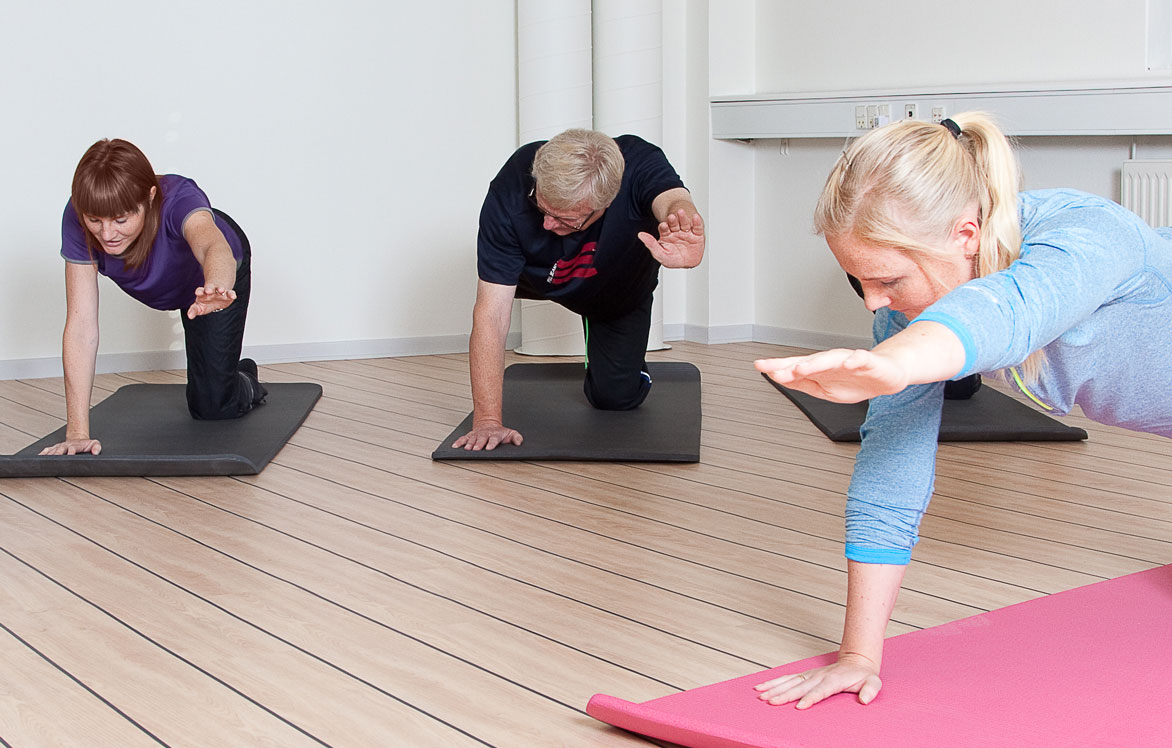 Kiropraktor i Odense - Tidens Kiropraktor -Holdtræning